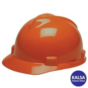 MSA Fastrack V-Gard Caps Orange Head Protection