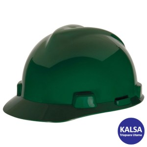 MSA Fastrack V-Gard Caps Green Head Protection