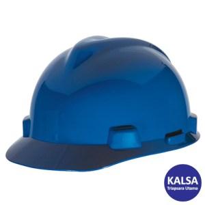 MSA Staz On V-Gard Caps Blue Head Protection