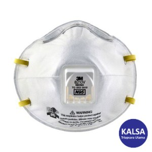 Respirator 8210V 3M Cup Particulate Respiratory Protection