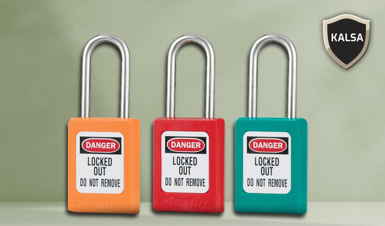 Safety Padlock Master Lock, Perbedaan Jenis Safety Padlock