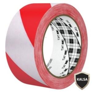 Hazard Marking Tape Red White 3M 767 Stripe