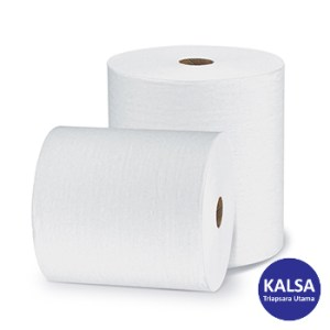 Kimberly Clark 96232 L20 White Wypall Perforated Jumbo Roll Wiper