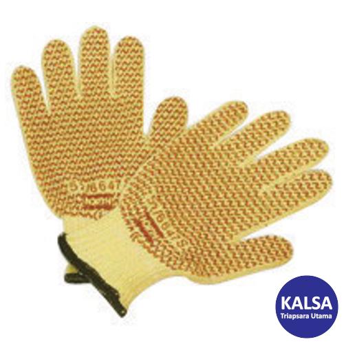 Honeywell 52-6647S North Grip N Kevlar Cut Resistant Glove