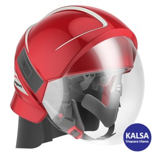 Bullard Magma Red Platform Fire Helmet
