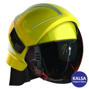 Bullard Magma Yellow Platform Fire Helmet