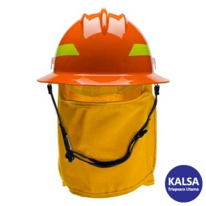 Bullard Orange Wildland Fire Helmet