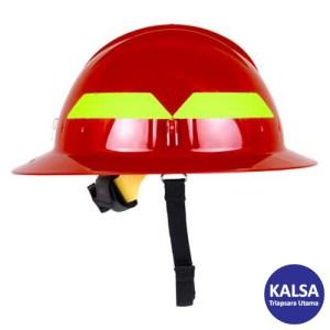 Bullard Red Wildland Fire Helmet