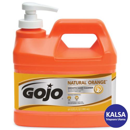 Gojo 0948-04 Natural Orange Smooth Heavy Duty Hand Cleaner