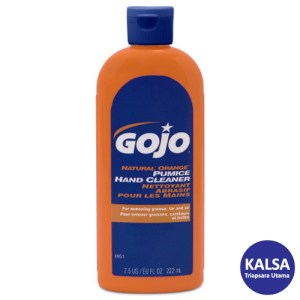 Gojo 0951-15 Natural Orange Pumice Heavy Duty Hand Cleaner