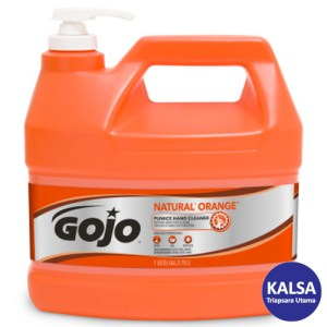 Gojo 0955-02 Natural Orange Pumice Heavy Duty Hand Cleaner