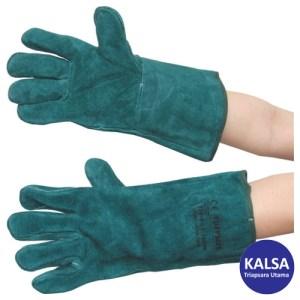 Tuffsafe TFF-961-1600K Size 11 Green Lined Gauntlet Glove