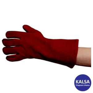 Tuffsafe TFF-961-1620K Size 11 Red Lined Gauntlet Glove