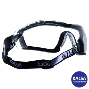 Bolle COBFSPSI Clear Cobra Safety Glasses Eye Protection