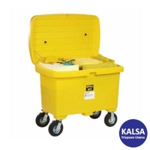 """SpillTech SPKHZ-CART8 HazMat with 8"""" Wheels Spill Cart Kit"""