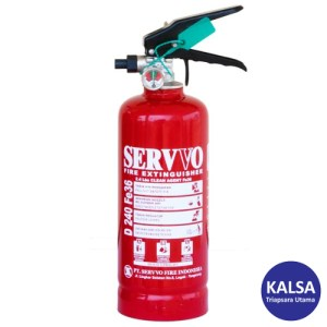 Servvo D 240 FE-36 Portable Clean Agent FE-36 Fire Extinguisher
