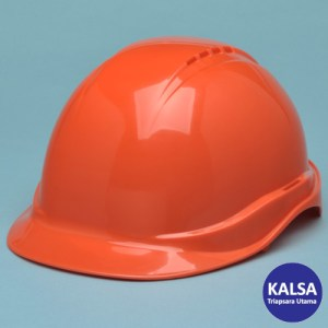 Elvex SC-50V-4R-ORG Orange Tectra Safety Cap Vented Head Protection