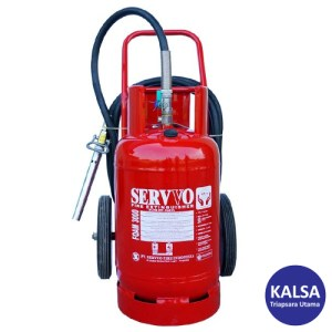 Servvo F 3000 AF3 AB Trolley Foam AFFF 6% Fire Extinguisher