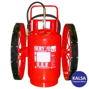 Servvo P 13600 ABC 90 Big Wheeled ABC Dry Chemical Powder Fire Extinguisher