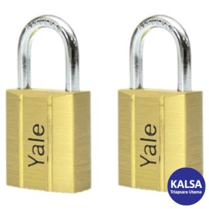 Yale V140.50KA2 V-Series Solid Brass Shackle 50 mm Security Padlock