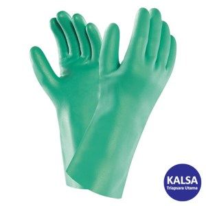 Ansell Sol-Vex 37-145 Nitrile Immersion Chemical and Liquid Protection Glove