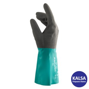 Ansell AlphaTec 58-435 Nitrile Immersion Chemical and Liquid Protection Glove