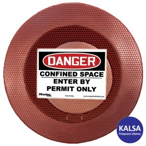 Master Lock S201CS Four Size Confined Space Cover