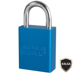 American Lock A1105BLU Safety Lockout Padlock