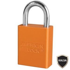American Lock A1105ORJ Safety Lockout Padlock