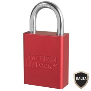 American Lock A1105RED Safety Lockout Padlock