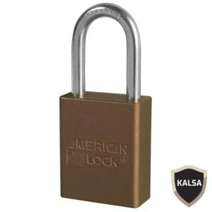 American Lock A1106BRN Safety Lockout Padlock