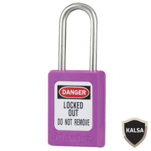 Master Lock S33KAPRP Keyed Alike Zenex Snap Lock Safety Padlock
