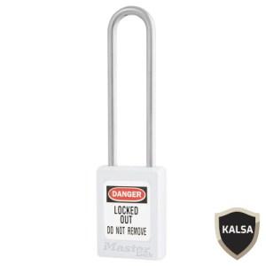Master Lock S33LTWHT Keyed Different Zenex Snap Lock Safety Padlock