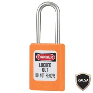 Master Lock S33ORJ Keyed Different Zenex Snap Lock Safety Padlock