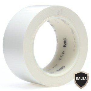 Floor Marking Vinyl Tape 3M 471 White