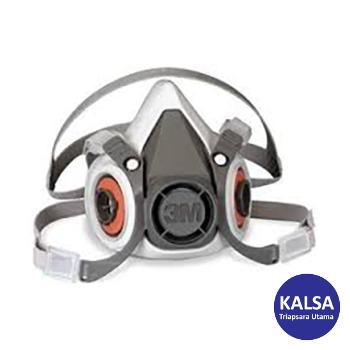Distributor 3M 6200 Size M Half Reusable Respiratory Protection, Jual 3M 6200 Size M Half Reusable Respiratory Protection