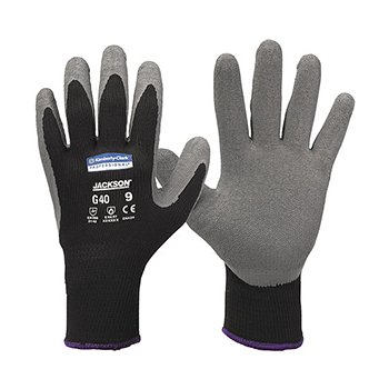 Distributor Kimberly Clark 97272 G40 Latex Coated Gloves size 9 (L), Distributor Latex Glove Kimberly Clark 97272 G40 Latex Coated Gloves size 9 (L)