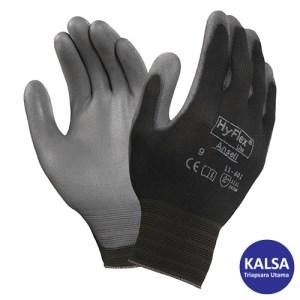 Ansell HyFlex 11-600 Black Nylon Light Multi Purpose Glove