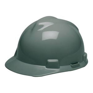 MSA Fastrack V-Gard Caps Gray Head Protection