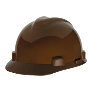 MSA Fastrack V-Gard Caps Light Brown Head Protection