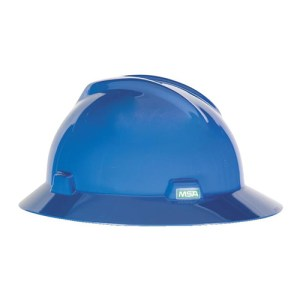MSA Fastrack V-Gard Hats Blue Head Protection