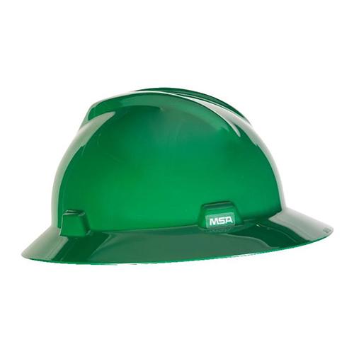 MSA Fastrack V-Gard Hats Green