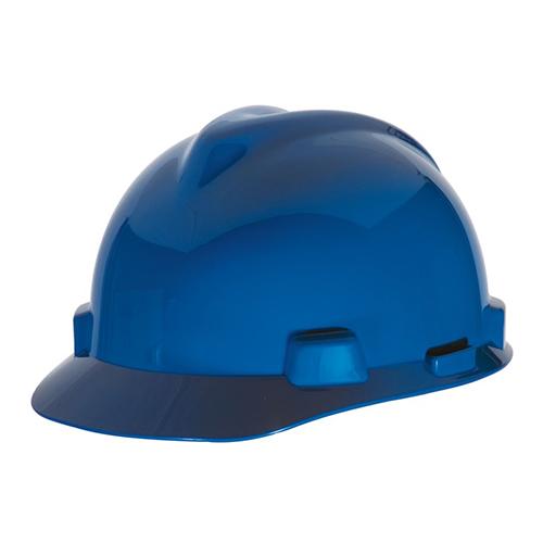 MSA Staz On V-Gard Caps Blue