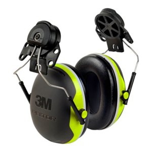 3M X5P3E Peltor X Series Ear Muffs Hi-Viz Hearing Protection
