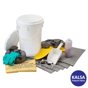 Brady SKA-BKTACID Chemical Allwik Acid Neutralizing Spill Kit
