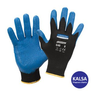 Kimberly Clark 40227 G40 Size L Jackson Safety Nitrile Foam Coated Glove