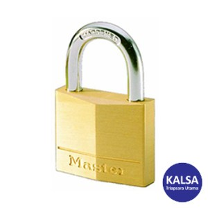 Master Lock 120EURD Solid Brass Padlocks Steel Shackle