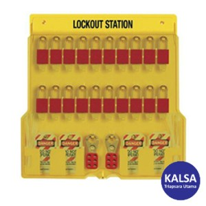 Master Lock 1484BP1106 Padlock Stations
