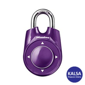 Master Lock 1500iEURDPURPLE Combination Padlock