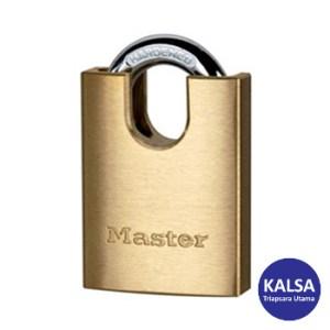 Master Lock 2240EURD Solid Brass Padlock Hardened Steel Shackle